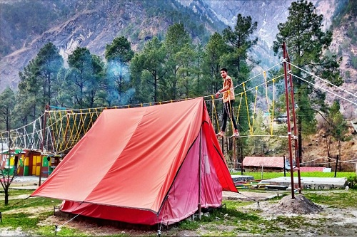 Camping in Kasol Valley