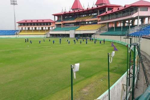 Cricket Ground in Dharamshala