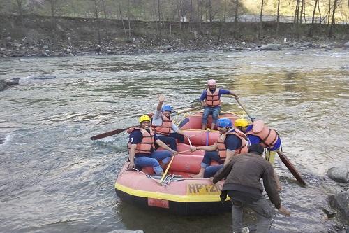 Rafting in Kullu
