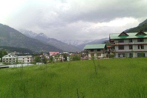 Rohtang View From Manali