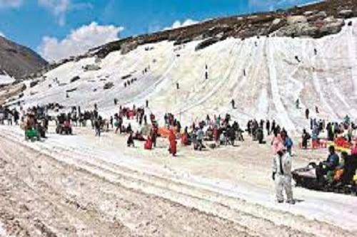 Snow Activity at Rohtang