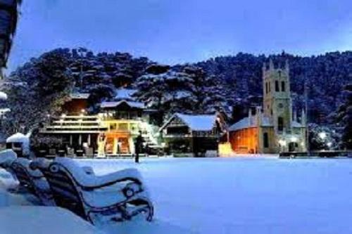 The Mall at Shimla